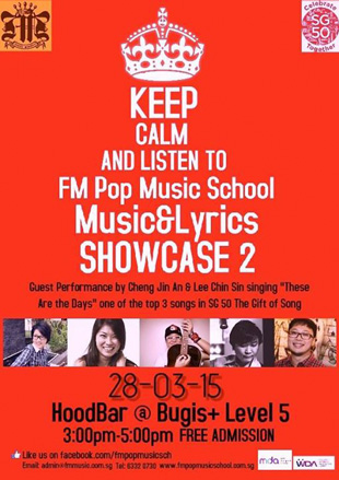 Music & Lyrics Showcase 2